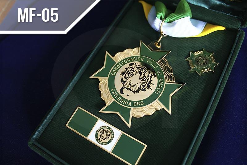 Medallas fotograbadas en Medellín