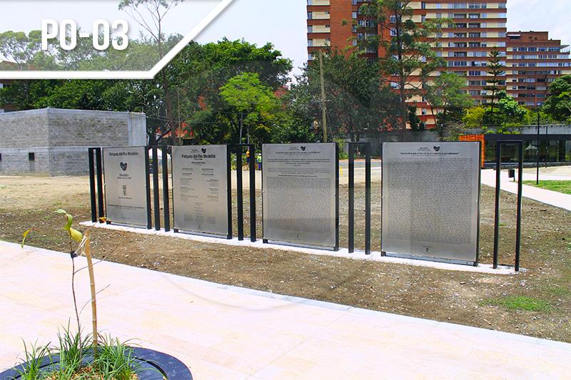 Placas de obra en Medellín