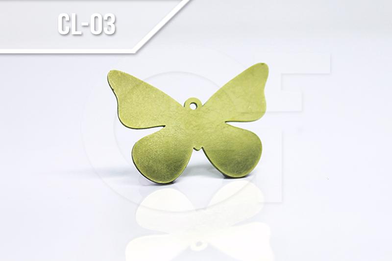 Corte láser mariposa